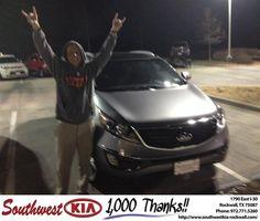 https://flic.kr/p/CSzJab | #HappyBirthday to Jason from Kathy Parks at Southwest KIA Rockwall! | deliverymaxx.com/DealerReviews.aspx?DealerCode=TYEE