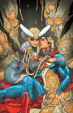 Superman 22 cover (art by Kenneth Rocafort)