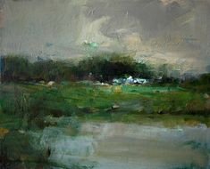 Contemporary landscape paintings on canvas in various sizes...