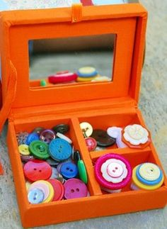 Kid's Craft: Button Rings
