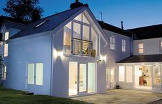 two storey rear extension ideas Brick Extension, House Extension Plans, House Extension Design, House Design, Extension Ideas, Side Extension, Bungalow Extensions, House Extensions, Architectural Technologist