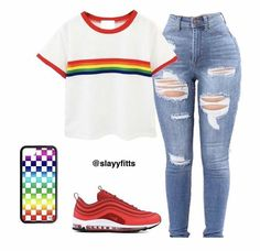 Dope outfits, cute teen outfits, lazy outfits, trendy outfits, swag out Swag Outfits For Girls, Teenage Outfits, Cute Swag Outfits, Cute Outfits For School, Teen Fashion Outfits, Dope Outfits, Lazy Outfits, Trendy Outfits, Girl Outfits