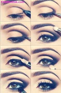 How To Apply Your Eyeshadow