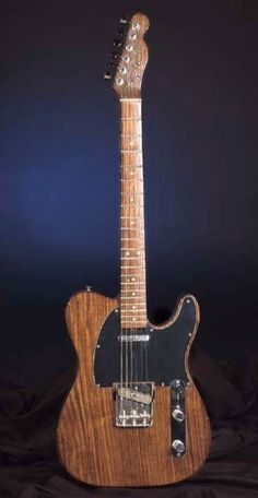 """George's """"Let it Be"""" Rosewood Telecaster. The Beatles Guitars"""