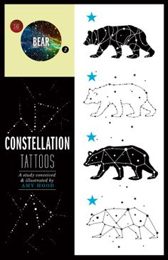 Art of Amy Hood: Constellation Tattoos: The Bear, My Current Muse: Marianne Faithfull, & Cat Fights with Kate Moss