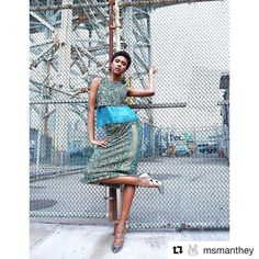 #Repost @msmanthey with @repostapp  One of our favorite models to work with @marshalarose always brings it   @sarahlenoirstory  #mua @theartistsg #fashion #stylediaires #mode #modelnyc #carefreeblackgirl #girls #urbanflower #rockstar #strength #ootd #lookbook #shine #sequins #glitter #madeinny #mantheycollection #MANTHEY