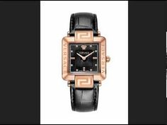 Ceasuri Versace intr-o colectie online. Cesuri superbe de lux, adevarate bijuterii. #ceasuriversace Square Watch, Apple Watch, Versace, Watches, Youtube, Accessories, Wristwatches, Clocks, Youtubers