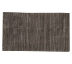 Heathered Hand-Loomed Rug - Charcoal | Pottery Barn