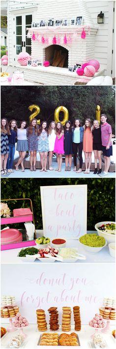 Donut You Forget About Me | Cutest Graduation Party Idea!