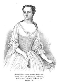 Jane Byrd of Westover Virginia wife of Hon John Page - William Byrd II - Wikipedia William Byrd, Canon, Virginia, Cannon