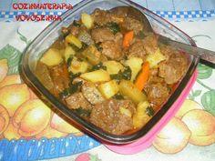 Cozinhaterapia Vovoszinha: Carne de panela e legumes com ora pro nóbis