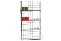 """HUGE Industrial Wire Shelf & Stand Dimensions: 15.75"""" x 8"""" x 31.5"""" H. Sold Out! $72.00"""