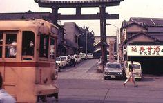 昭和45年。神田神社前の写真