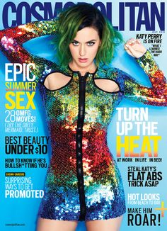 Katy Perry's been named Cosmopolitan magazine's first-ever global cover star!