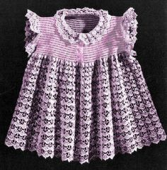 Baby Dress Pattern Ruffled Chemise PDF by AestheticNest on Etsy
