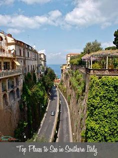 Top 10 attractions and best places to visit in Southern Italy. BREATHTAKING views in Positano, Mount Vesuvius, Naples, the Amalfi Coast, and more.