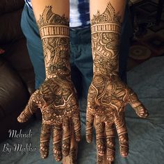 Intricate bridal henna   #mehndi #art #hennadesign