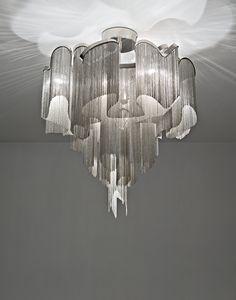 Terzani   Soscik   Contemporary Chandelier pendant light by Christian Lava