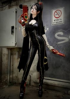 This Bayonetta Cosplay is All Kinds of Awesome [Pics]