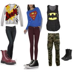 """""""Super hero"""" by bklyngal1026 on Polyvore"""
