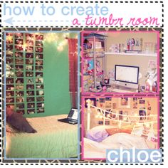 How To Create A Tumblr Room, pinning this to go back to it maybe for New Years one year :)