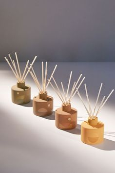 P.F. Candle Co. Sunset Reed Diffuser   Urban Outfitters Homemade Reed Diffuser, Reed Diffuser Oil, Diffuser Sticks, Candle Power, Hotel Room Design, Blonde Wood, Candle Accessories, Home Fragrances, Fragrance Oil