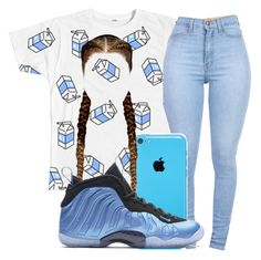"""""""Untitled #238"""" by neca-xoxo ❤ liked on Polyvore featuring NIKE"""