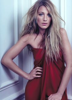 Blake Lively by David Slijper for Bullett Summer 2012