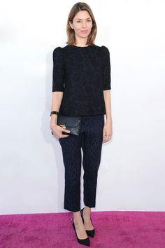 Sofia Coppola en Louis Vuitton http://www.vogue.fr/mode/look-du-jour/articles/sofia-coppola-en-louis-vuitton-3/17880