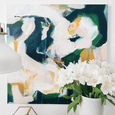 "305 likerklikk, 3 kommentarer – @parimastudio på Instagram: """"The Jasmine"" is a painting that I made around the same time I planted three little Jasmine in my…"""