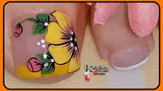 Flower Nail Designs, Minimalist Nails, Flower Nails, Manicure And Pedicure, Pink Nails, Beauty, Collections, Best Nails, Nice Nails