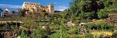 Die Gärten von Schloss Trauttmansdorff in Meran - Südtirol/Italien