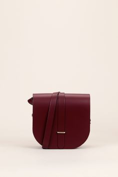 Saddle bag oxblood - The Cambridge Satchel Company