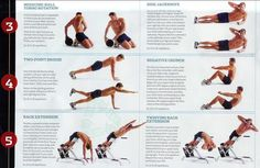 For quick and easy exercises