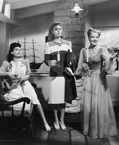joan crawford, greer garson and spring byington - when ladies meet (1941)