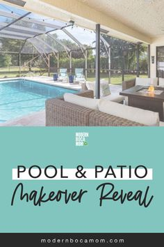 Pool Florida Living, Florida Home, South Florida, Boca Raton Beach, Boca Raton Florida, Dream Vacation Spots, Dream Vacations, Patio Makeover, Sunshine State
