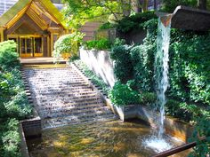 48 th street ad 1st avenue NYC  Secret Waterfalls & Gardens - Business Insider