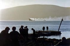 45 Commando Royal Marines and HMS Antelope.