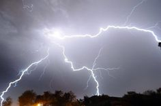 07/20/2016 - Scotland hit by 25,000 lightning bolts in one night during freak summer thunderstorm.