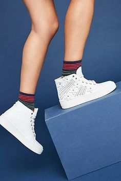 Maimai Embellished High-Top Sneakers 5efc54dc961
