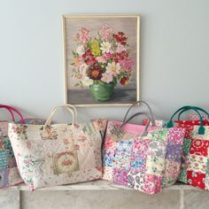 Patchwork bags by HenHouse