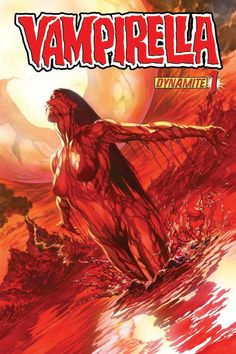 Comics and nothin' but — Vampirella variant cover by Alex Ross Bd Comics, Horror Comics, Comics Girls, Comic Book Covers, Comic Books Art, Comic Art, Fantasy Women, Dark Fantasy, Fantasy Art