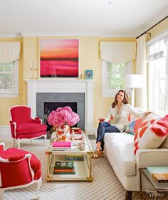 Brooke Shields invites readers into her colorful home in the latest issue of Better Homes & Gardens.