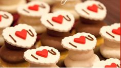 <3 Cupcake Toppers | Valentines Day