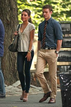 "Mila Kunis - Mila Kunis and Justin Timberlake Film ""Friends with Benefits"" 2"