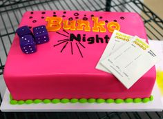 Bunko Night Cake