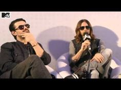 30 Seconds to Mars - Interview @ MTV News - YouTube