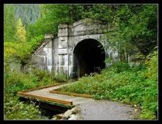 """The Steven's Pass Haunted Cascade Train Tunnel was the site of one of the worst train disasters in history. A number of people died in the incident that took place at the old train tunnel..."""