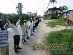 Madhesh Human Chain