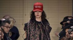 New York Fashion Week is just four days in and already the overarching mood of fashion as political expression prevails. The latest is this Public School version of President Trump's campaign wonderphrase, revised to express a popular local sentiment: Make America New York. — Roxanne Robinson